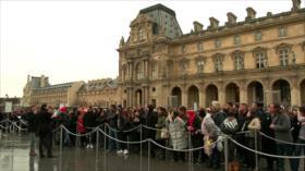En Francia no cesan actos de huelgas en diferentes sectores