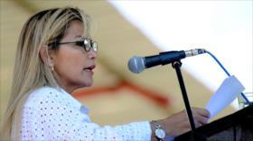 Parlamento de Bolivia aprueba ampliar el mandato de golpista Áñez