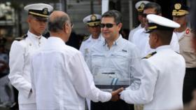 Hernández reitera que trasladará embajada de Honduras a Al-Quds