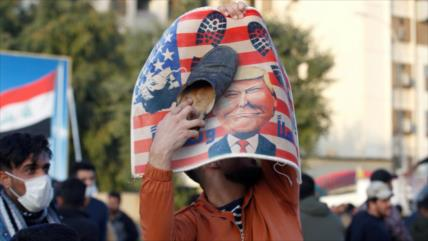 Irak: Postura de Trump ante Bagdad equivale a la 'piratería'