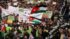 Miles de jordanos protestan contra el acuerdo de gas con Israel