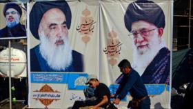 Líder de Irán y el ayatolá iraquí Sistani, más unidos que nunca