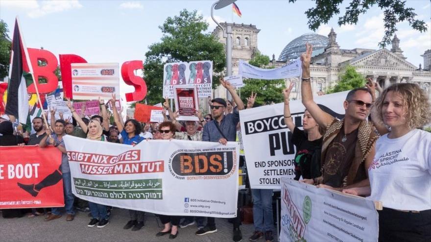 ONU impugna ley proisarelí de Alemania contra el movimiento BDS