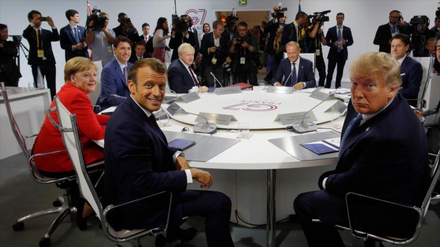 Sondeo: EEUU obligó a Europa a activar mecanismo contra Irán