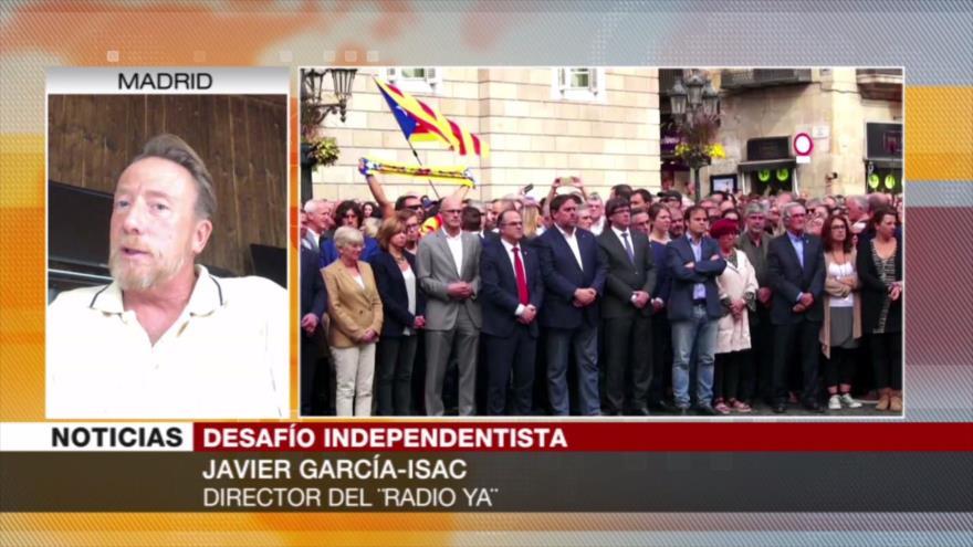 García-Isac: Gobierno de Sánchez está abocado al fracaso por pactar con ERC