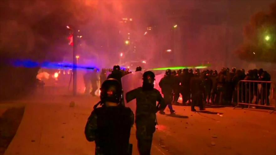 Maldad de EEUU. Protestas en El Libano. Crisis en Francia