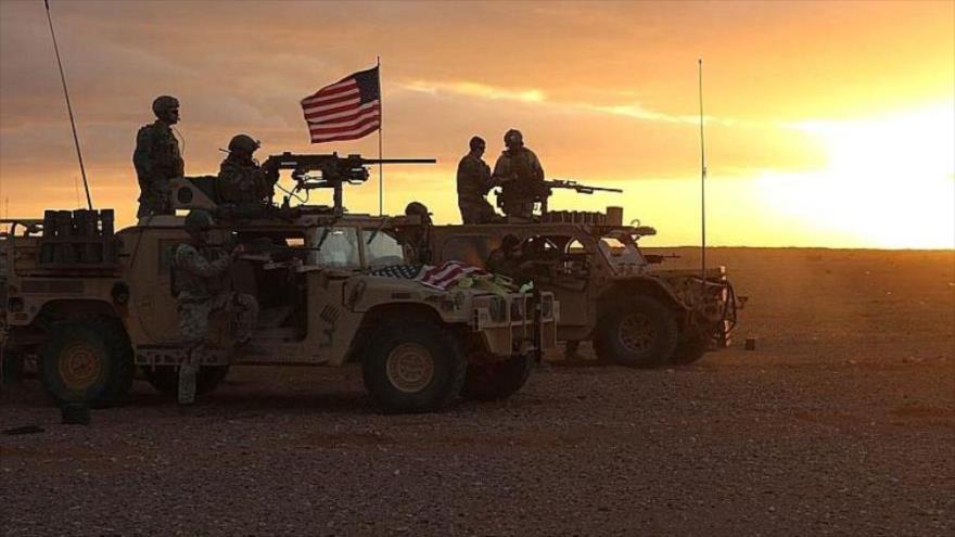 Vídeo: Fuerzas de EEUU impiden paso de tropas rusas en Al-Hasaka