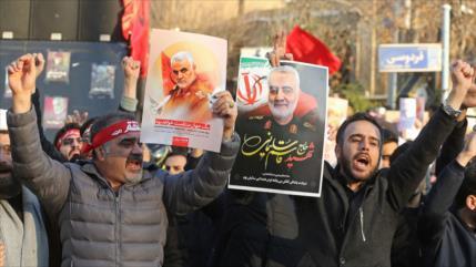 'EEUU recurre a embustes para justificar asesinato de Soleimani'