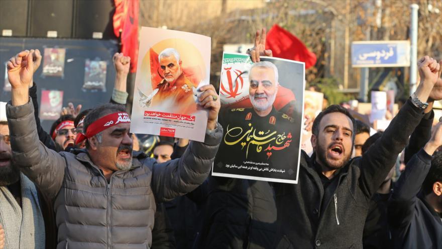 'EEUU recurre a embustes para justificar asesinato de Soleimani' | HISPANTV