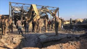 EEUU inicia reconstrucción de su base destruida en ataques de Irán