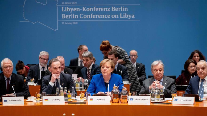 Arranca en Berlín conferencia internacional sobre conflicto libio | HISPANTV
