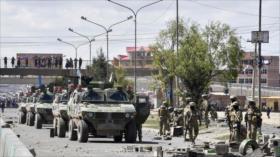 Morales censura desidia de gobierno de facto frente a la violencia