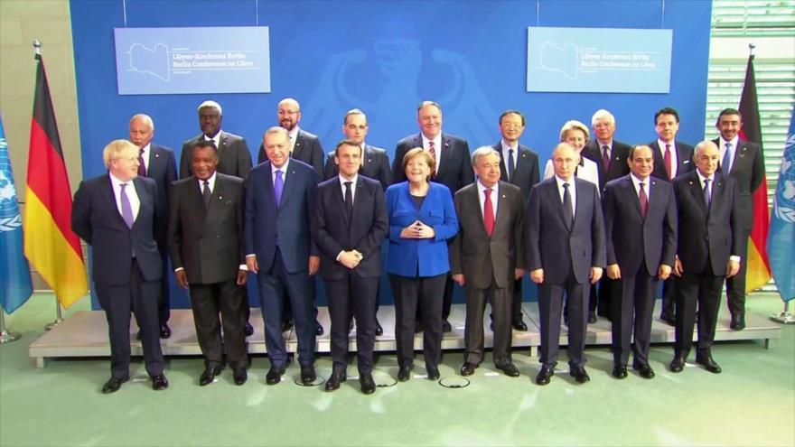 Conferencia internacional acuerda reforzar cese al fuego en Libia