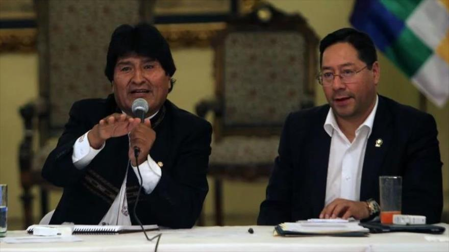 Morales anuncia a Luis Arce como candidato presidencial del MAS