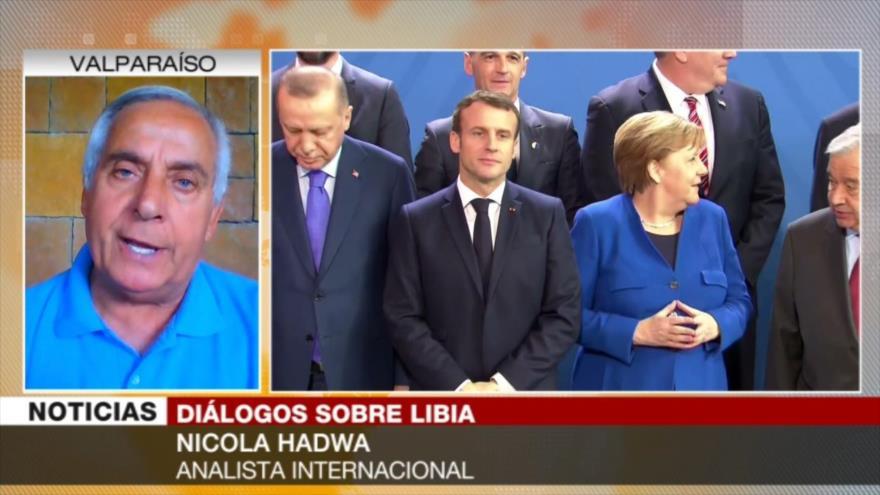 Hadwa: Potencias occidentales buscan en Libia saqueo de su riqueza