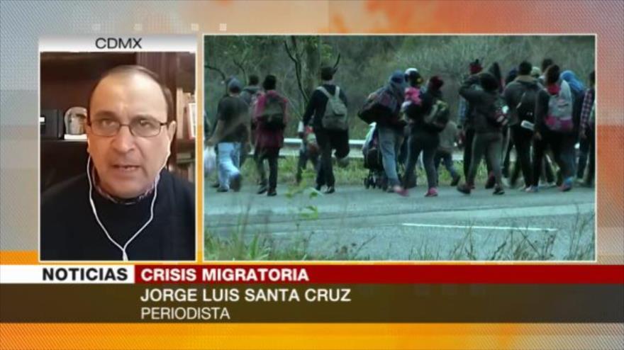 Santa Cruz: López Obrador obedece a Trump en el tema migratorio