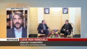 Arreaza visita Irán para crear un bloque contra EEUU