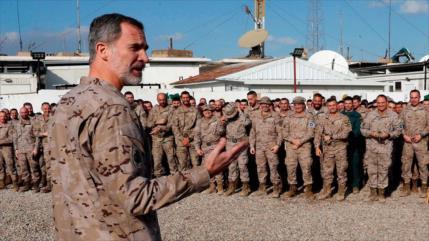 Iglesias a Sánchez: Referéndum sobre misiones de tropas españolas
