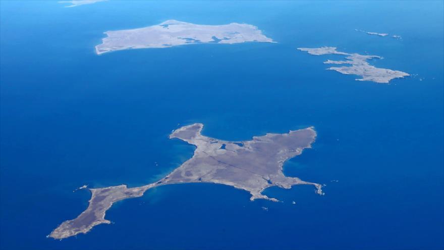 Vista aérea de la isla de Shikotan, del archipiélago Kuriles del Sur, cuya soberanía se disputan Japón Y Rusia.