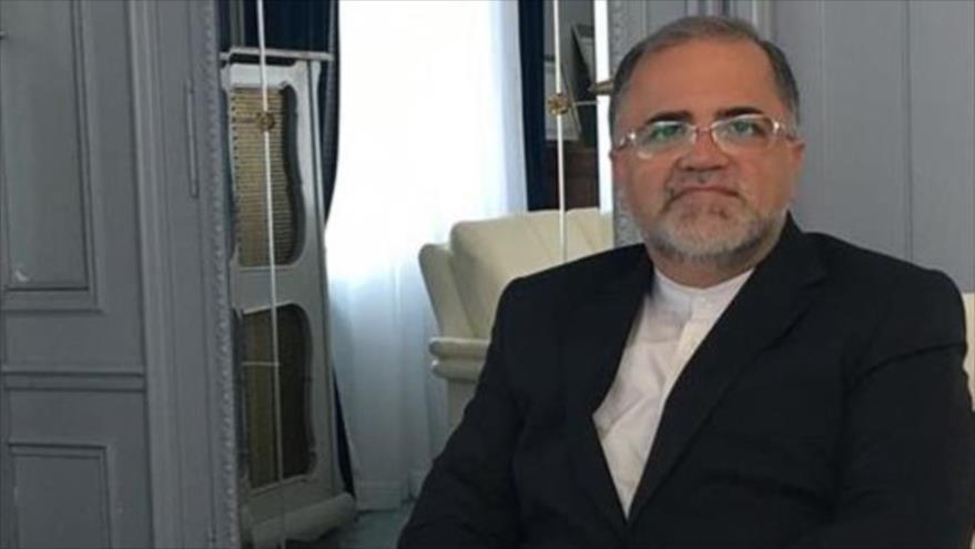 El embajador de Irán en Suiza, Mohamad Reza Hayi Karim Yabari (Foto: Fars)