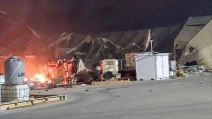 EEUU trasladó a 16 soldados heridos a Kuwait tras ataque iraní
