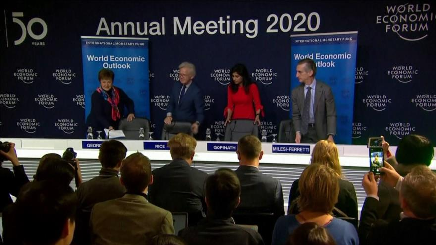 El FMI rebaja estimación de la economía mundial para el 2020