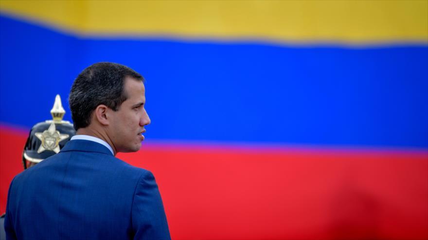 El líder opositor venezolano, Juan Guaidó, en Bogotá, capital de Colombia, el 20 de enero de 2020. (Foto: AFP)