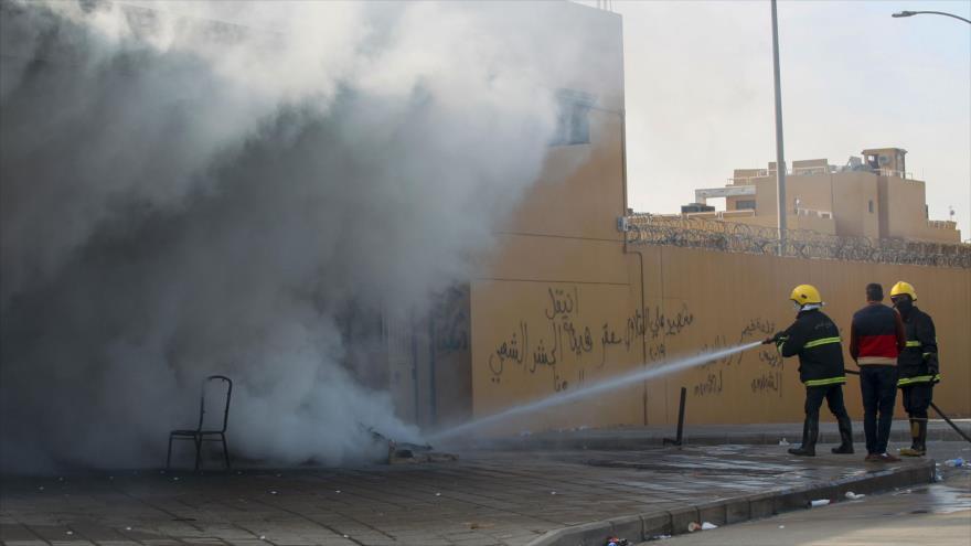 Vídeo: Varios cohetes impactan cerca de embajada de EEUU en Irak | HISPANTV
