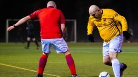 'Hombre vs grasa', la liga de fútbol para hombres con obesidad