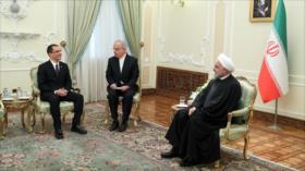 Rohani censura crímenes de EEUU contra Irán y Venezuela