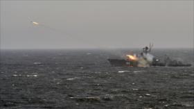 Vídeo: Rusia y Siria prueban su poderío naval en el Mediterráneo