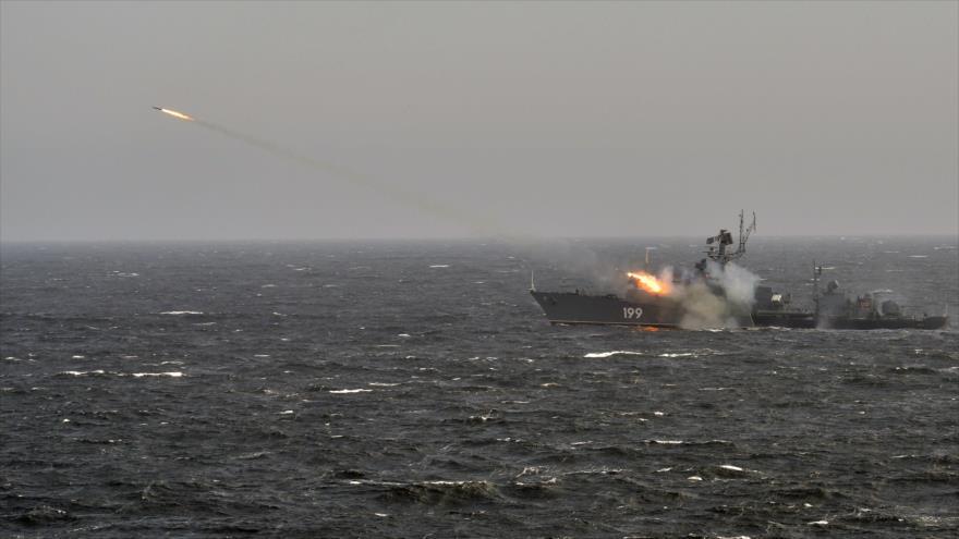 Vídeo: Rusia y Siria prueban su poderío naval en el Mediterráneo | HISPANTV
