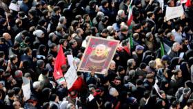 'Marchas por Soleimani frustraron plan de EEUU contra Irán e Irak'
