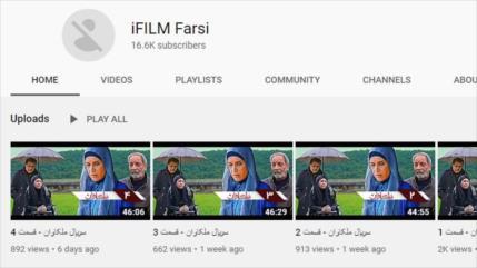 YouTubebloquea cuentas de iFiIm en persa y árabe