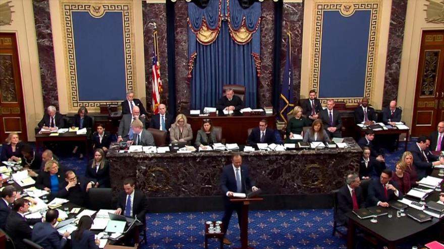 Senado de EEUU inicia primera etapa de impeachment contra Trump