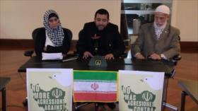 En Colombia rechazan las agresiones de Occidente contra Irán