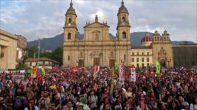 Colombianos vuelven a protestar contra Gobierno de Iván Duque