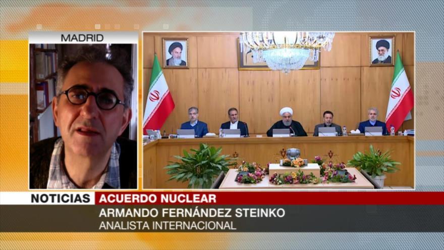 Steinko: Fracaso del pacto nuclear debilitará el multilateralismo