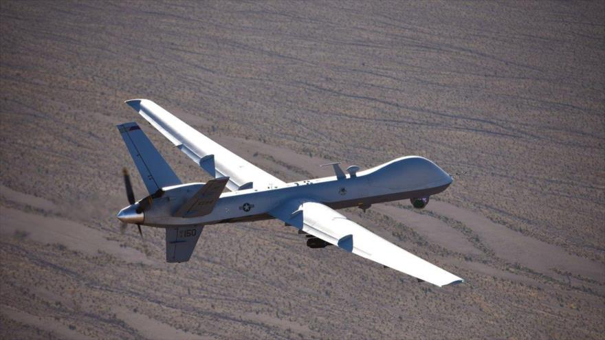 Un dron de modelo MQ-9 Reaper de fabricación estadounidense.