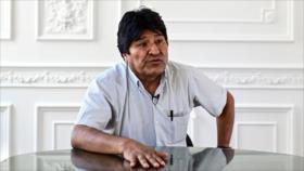 Morales acusa a Áñez de convertir Bolivia en país de 'asesinatos'