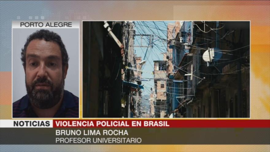 Lima Rocha: El Estado está institucionalizando el racismo en Brasil