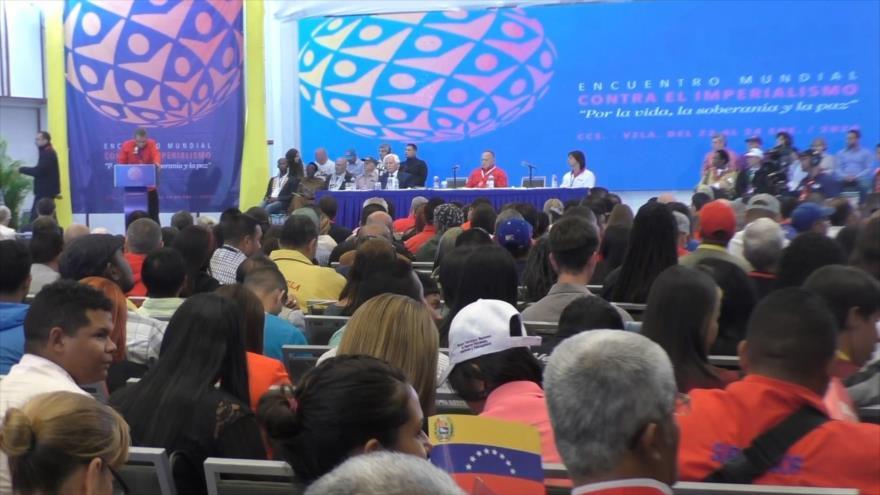 Comienza en Caracas Encuentro Mundial Antimperialista