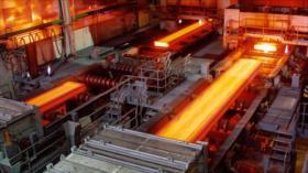 Irán aumentará sus exportaciones de acero pese a sanciones de EEUU