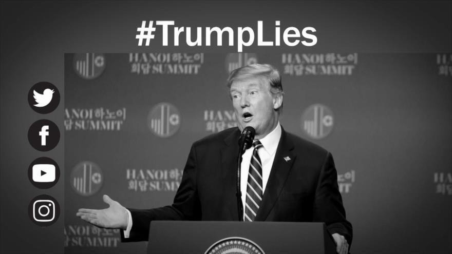 Etiquetaje: Trump, presidente de miles de mentiras, incluso sobre ataque iraní
