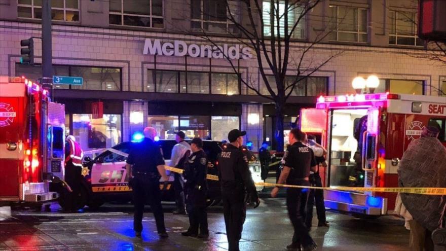 Un tiroteo masivo en EEUU dejó al menos un muerto y varios heridos