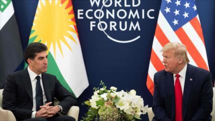 Otra pifia: Trump confunde a Nechirvan Barzani con Mazlum Abdi