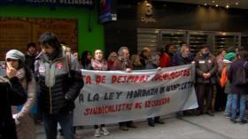 Protestan contra la Ley Mordaza en aeropuertos españoles