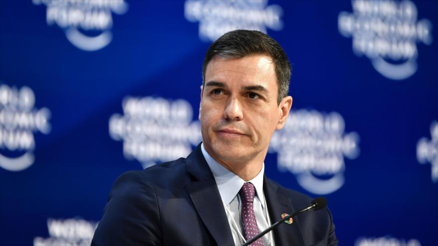 Pedro Sánchez, sancionado con € 500 por usar La Moncloa para su campaña