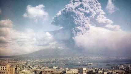 Hallan cerebro vitrificado de víctima de una explosión volcánica