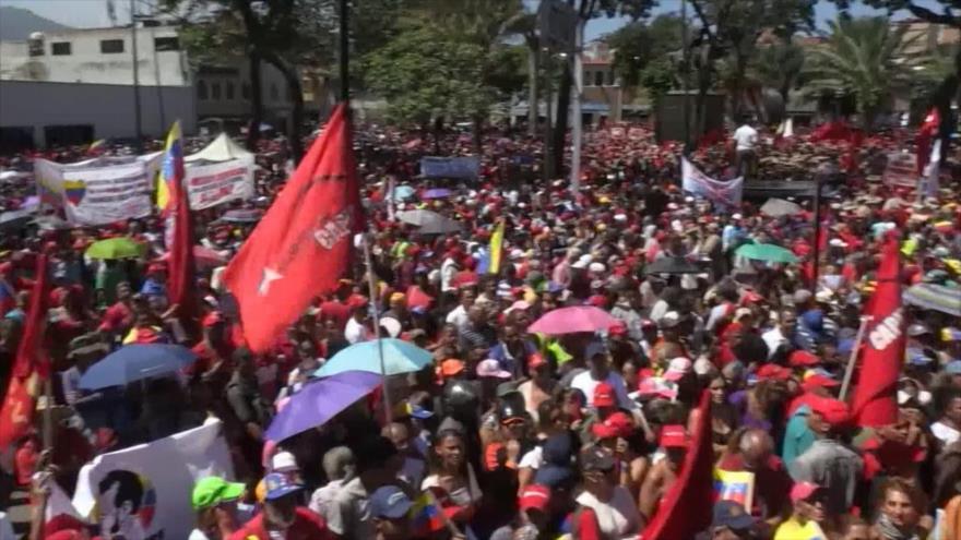 Sistema de misiles S-400. Marcha en Caracas. Coronavirus en China
